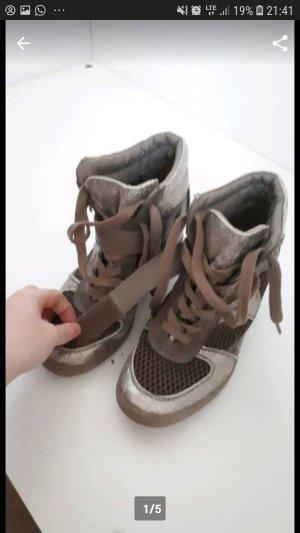 Schuhe Grau Absatz 37