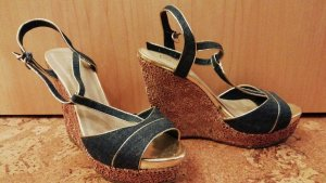 & other stories Wedge Pumps blue