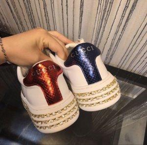 Gucci Zapatillas con velcro blanco