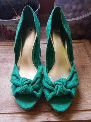 Schuhe H&M im Minzgrun