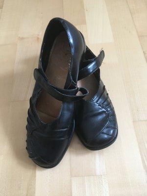 Schuhe, Halbschuhe, schwarz, Größe 40