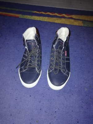 Schuhe Herst/Winter Gr. 37 in dunkelblau