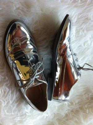Schuhe im Blogger Stil Asos silber