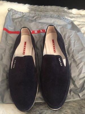 Schuhe in Blau von Prada