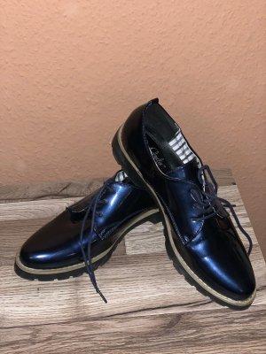 Claudia Ghizzani Budapest schoenen donkerblauw