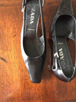 Schuhe in schwarz von Prada