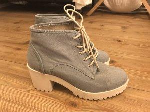 Schuhe Jeans ZARA