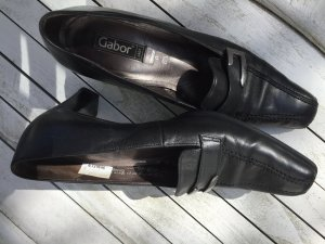 Gabor Slip-on Shoes black leather