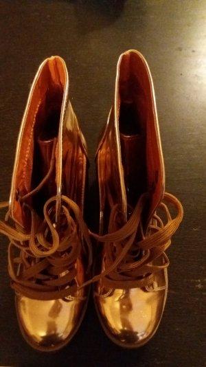Schuhe Kupferetallic Neu von Reno