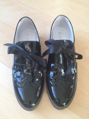 Schuhe Lackschuhe von Louis Norman Größe 40