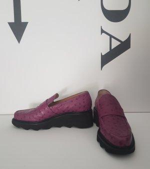 Schuhe Leder flats Plateau von Walter Steiger gr. 37,5