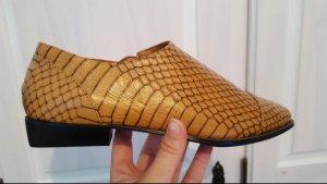 Schuhe | Leder | H&M | Gr. 38