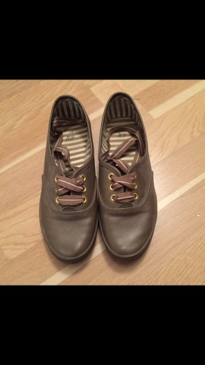 Schuhe Lederimmitat H&M