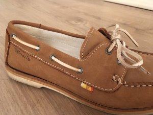 Schuhe/Loafer Tamaris cognac/braun