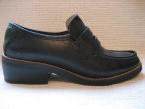schuhe Loafer von Zara Gr 38 schwarz neu