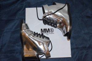 Schuhe Maison Martin Margiela silber Größe 37 neu mit Karton (unbenutzt) NP 465 €