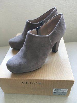 Unisa Chaussure à talons carrés beige cuir
