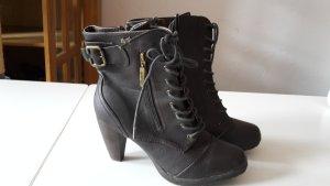Schuhe mit Absatz-braun