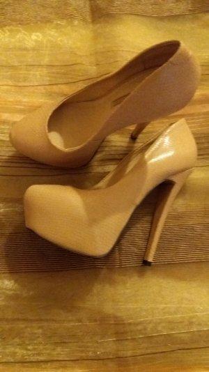 Schuhe mit Animalprint