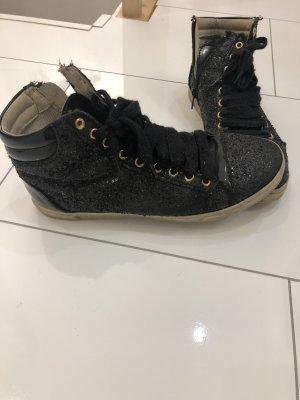 Schuhe mit Glitzer wie neu Größe 37