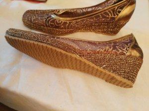 Schuhe mit glitzern