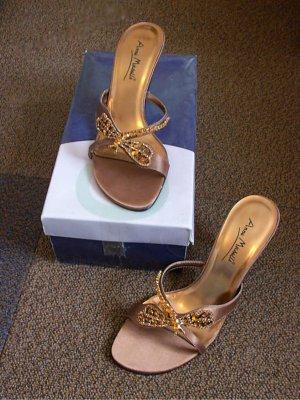 Schuhe mit Libelle & Steinchen in Gr. 37