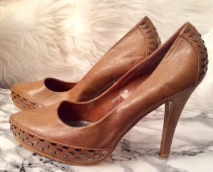 Schuhe mit Muster 38 high heels