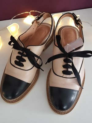 Schuhe mit Schleifen Gr. 37 Rose Nude