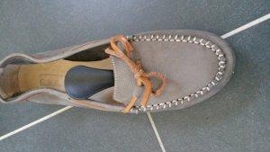 Schuhe, Mokkassin ähnlich, Größe 38.5