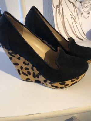 Schuhe neu echtes Leder und Fell
