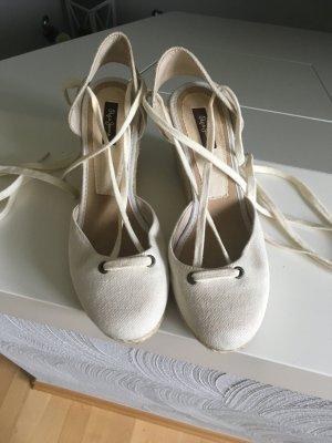 Pepe Jeans High-Heeled Sandals cream-oatmeal