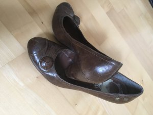 Schuhe, Pumps, braun, Größe 38