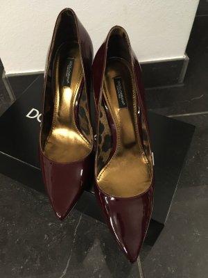 Schuhe Pumps High Heels Gr 39 D & G Dolce & Gabbana