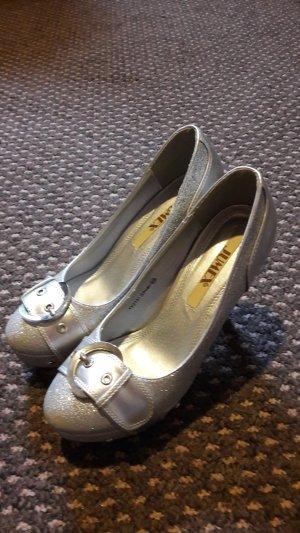 Schuhe Pumps Jumex Silber