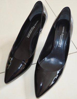 Schuhe Pumps Kennel & Schmenger schwarz neu Leder 40 6,5