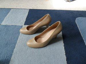 Schuhe Pumps, nude Gr 41