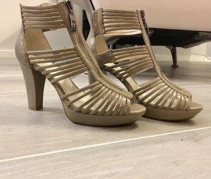 Schuhe Pumps Sandalen Gerry Weber NEU 39 beige hellgrau