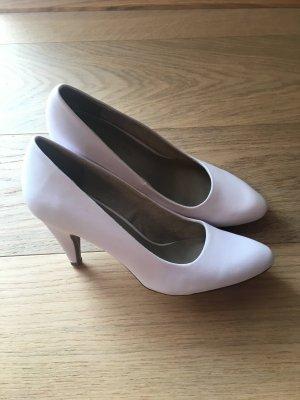 Schuhe Pumps Stöckelschuhe High Heels weiß Brautschuhe Gr. 38