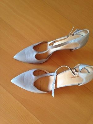 Schuhe, Pumps, von Lloyd, in Hell-Grau, Leder