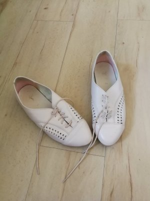 H&M Wingtip Shoes dusky pink