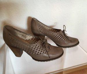 Schuhe Safari Beige Bianco 40 41
