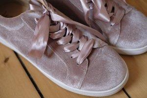Schuhe Samt Rosa von Sam Edelman