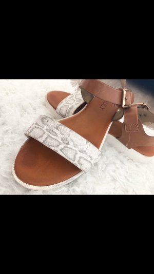 Deichmann Clog Sandals multicolored