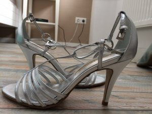 Buffalo High Heel Sandal silver-colored-light grey