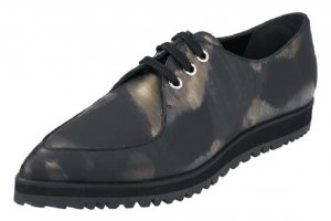 Schuhe - Schnürer in Camouflage Gr. 37