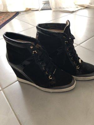 Schuhe schwarz Lack