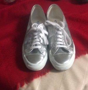 Schuhe Silber/Durchsichtig