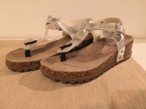 Schuhe Silber Gr. 39 neu