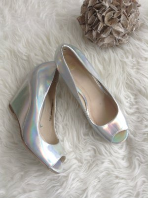 Schuhe / Silber / Gr. 39 / Pimkie / NEU