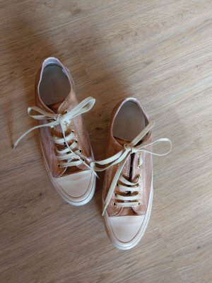 Candice Cooper Lace-Up Sneaker apricot-natural white